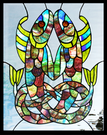 �fish-stained-glass�